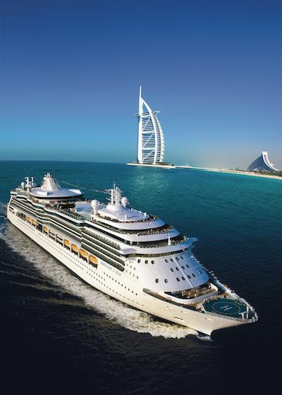 Luksusta Dubain risteilyltä